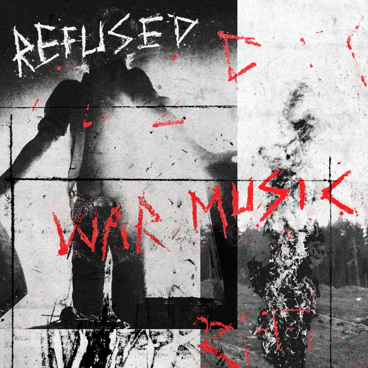 Refused/War Music (Red Vinyl) [LP]