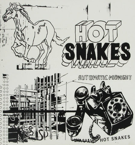 Hot Snakes/Automatic Midnight [LP]