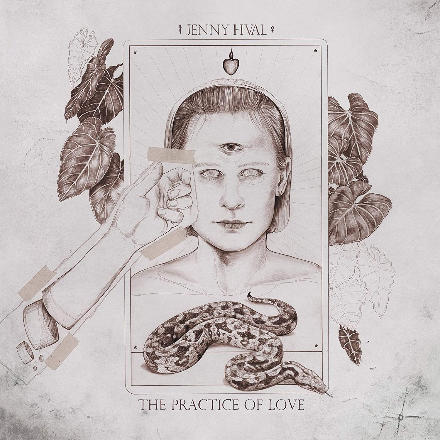 Hval, Jenny/The Practice Of Love (Sand Coloured Vinyl) [LP]