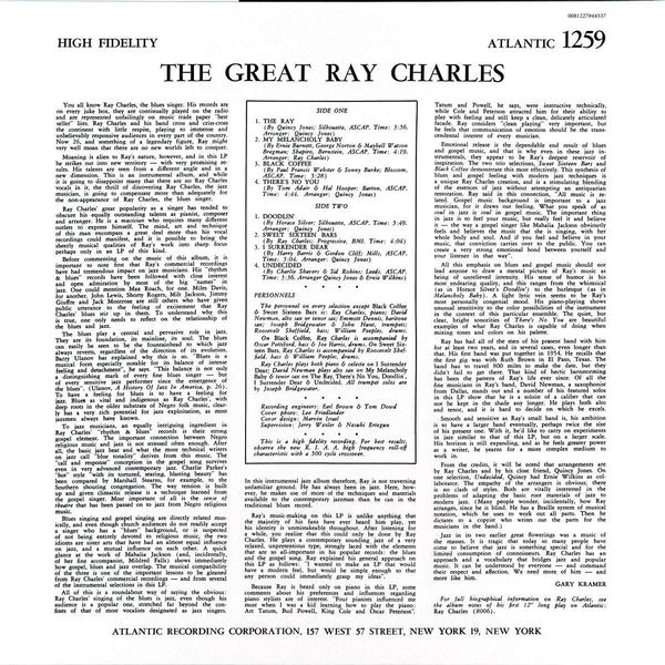 Charles, Ray/The Great - Mono [LP]