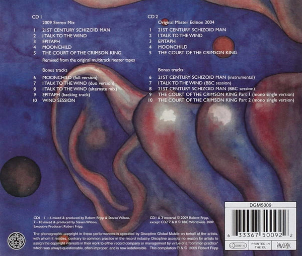 King Crimson/In the Court of the Crimson King (2CD) [CD]