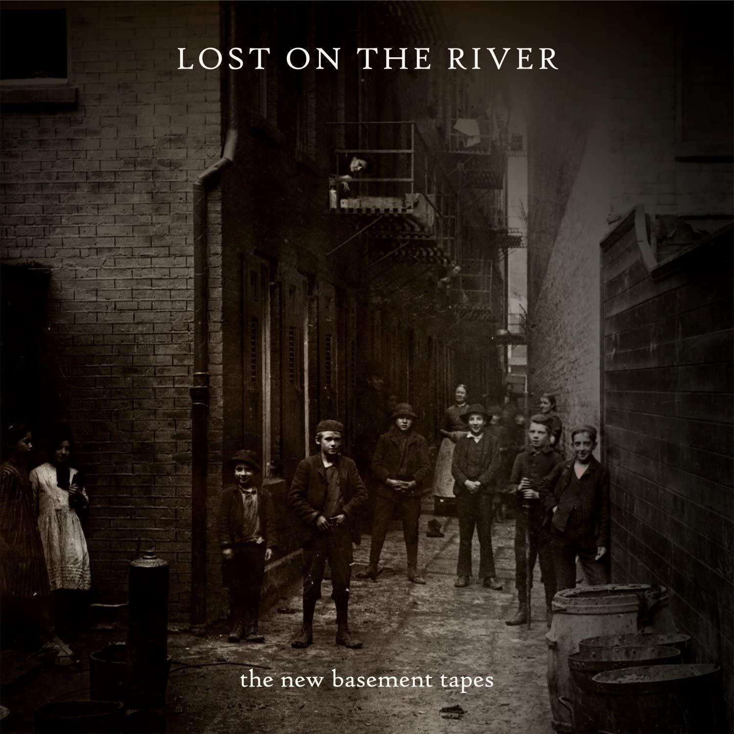 New Basement Tapes, The/Lost on the River [CD]