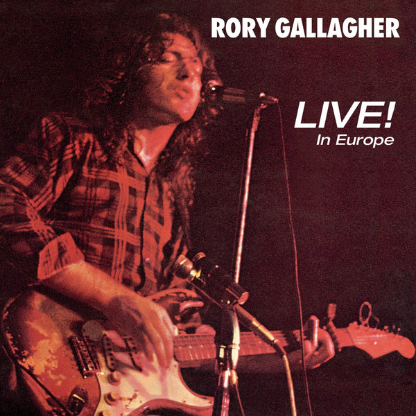 Gallagher, Rory/Live! In Europe [LP]