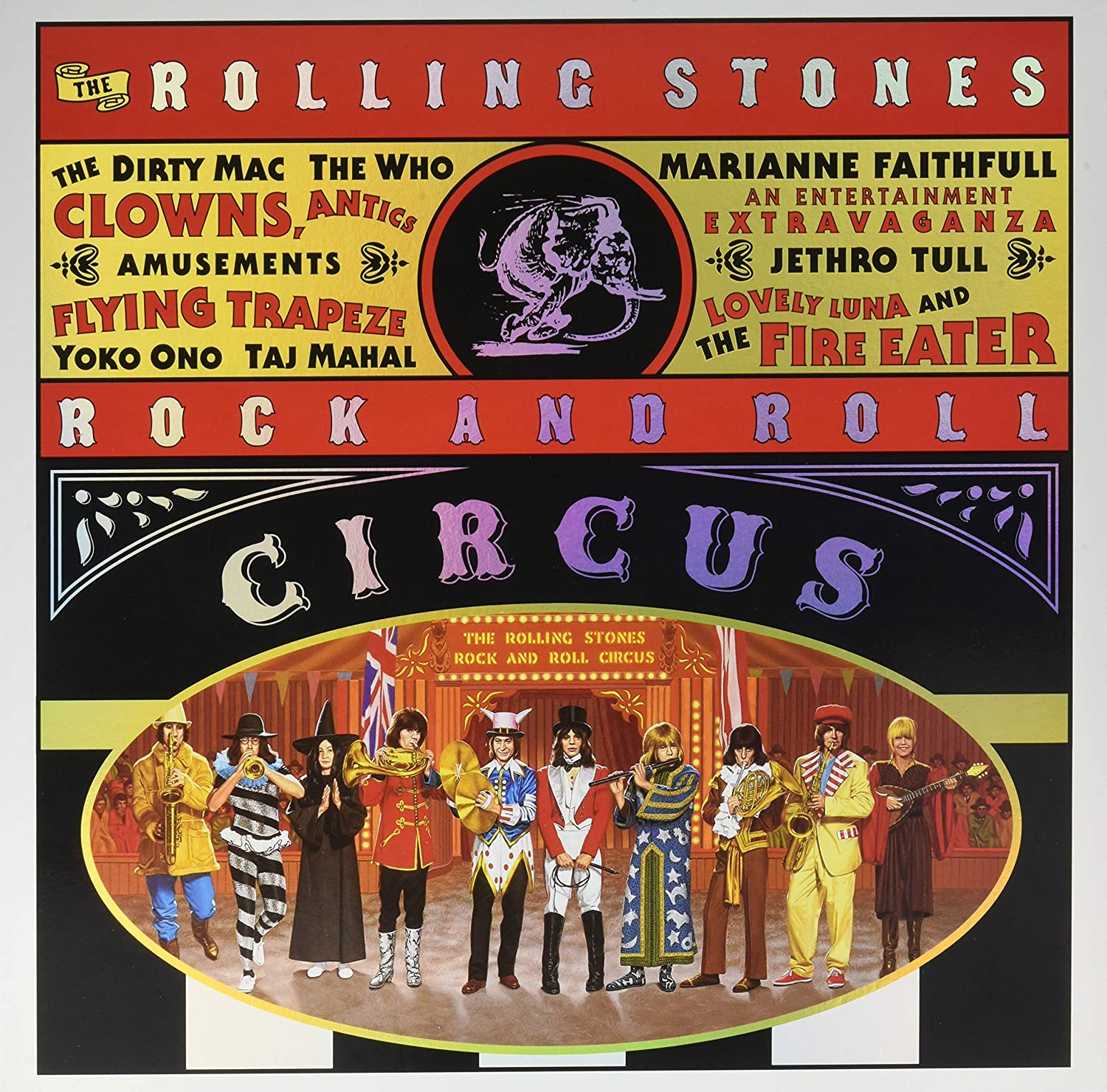 Rolling Stones, The/Rock and Roll Circus (3LP Set) [LP]