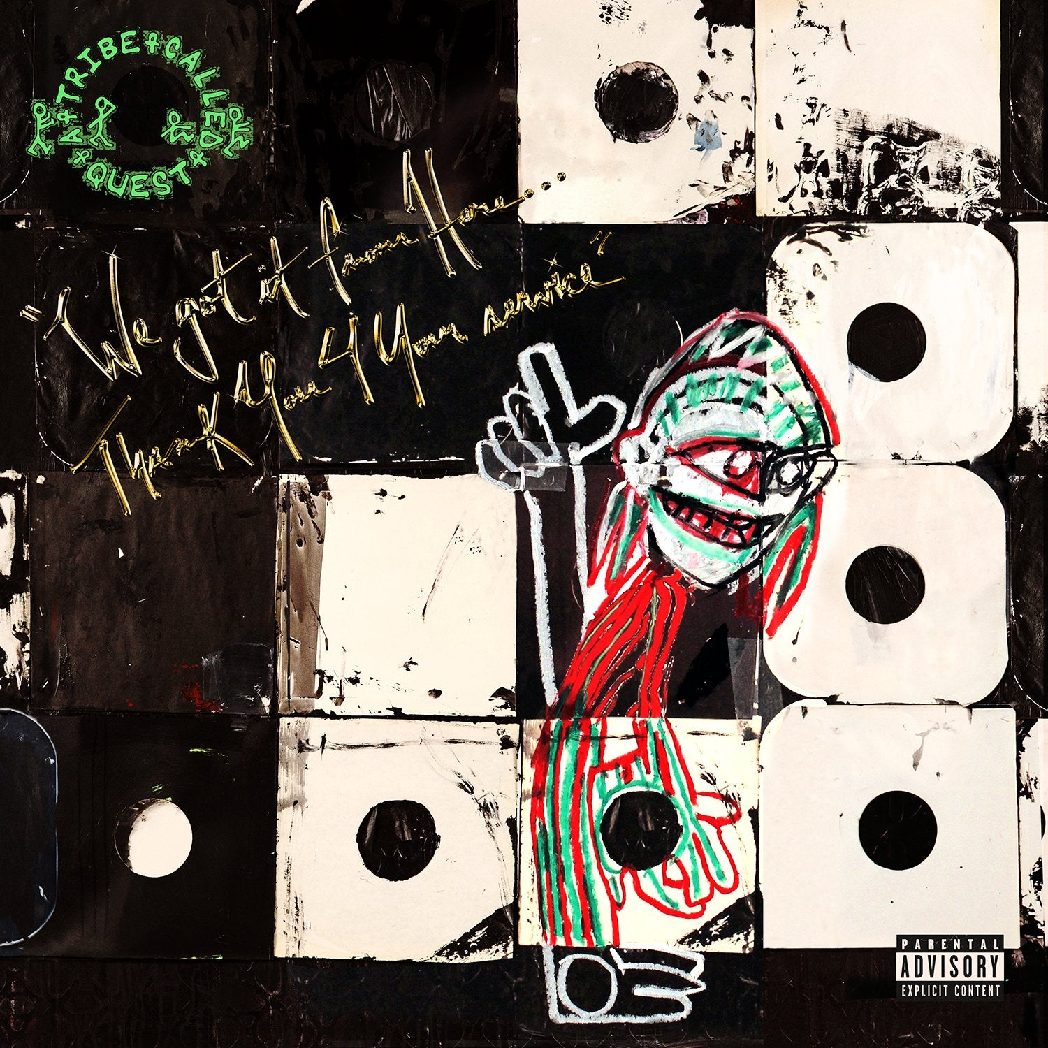 Tribe Called Quest/We Got It From Here, Thank You 4 Your Service [CD]