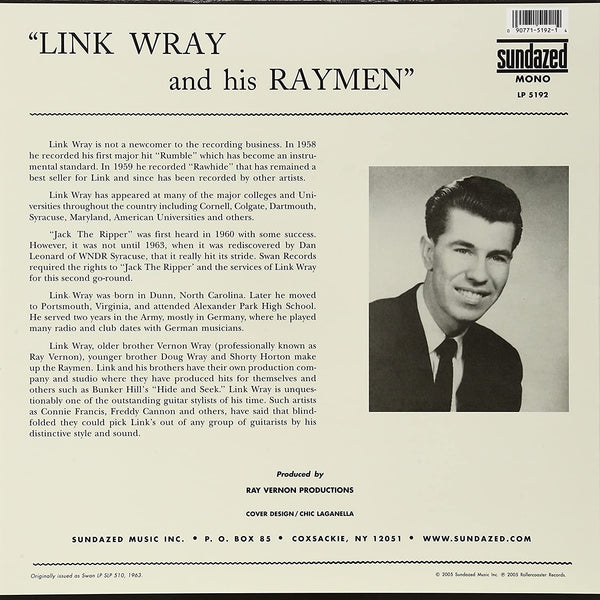 Wray, Link/Jack the Ripper [LP]