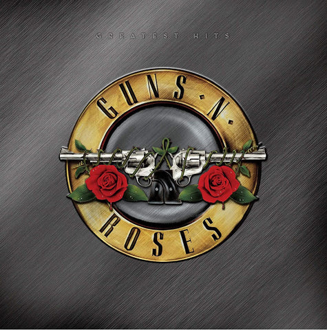 Guns N' Roses/Greatest Hits (Gold with Red & White Splatter) [LP]