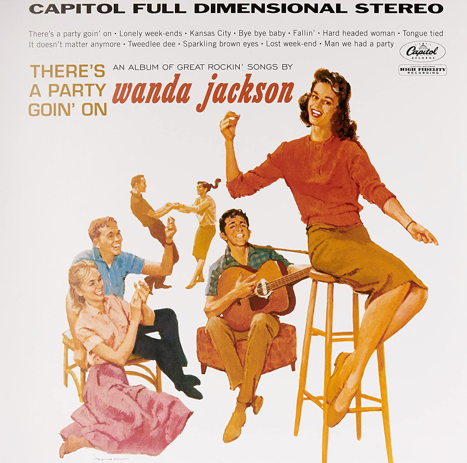 Jackson, Wanda/There's A Party Goin On [LP]