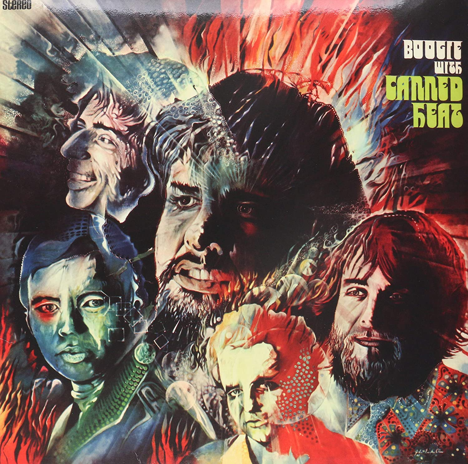 Canned Heat/Boogie With [LP]