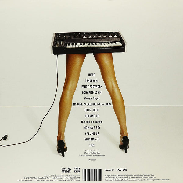 Chromeo/Fancy Footwork [LP]