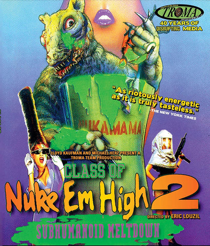 Class Of Nuke Em High 2 [DVD]
