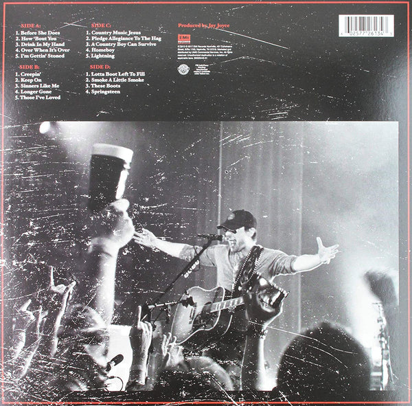 Church, Eric/Caught In the Act Live (Blue Vinyl) [LP]