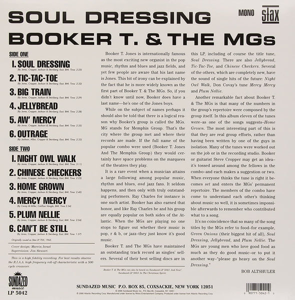 Booker T & The MGs/Soul Dressing [LP]