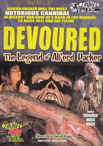 Devoured - The Legend of Alferd Packer [DVD]