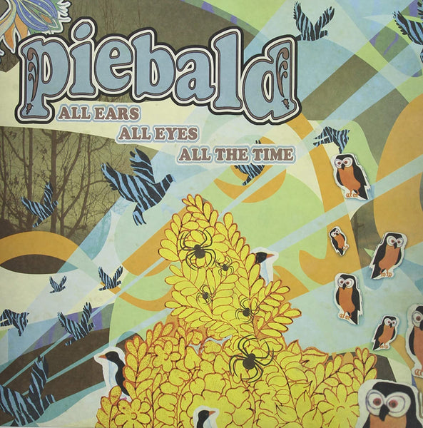 Piebald/All Ears, All Eyes, All The Time Mint Green Vinyl) [LP]