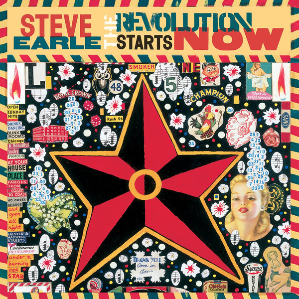 Earle, Steve/The Revolution Starts Now [LP]