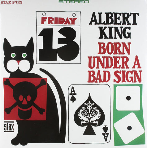 King, Albert/Born Under A Bad Sign (Audiophile Pressing) [LP]