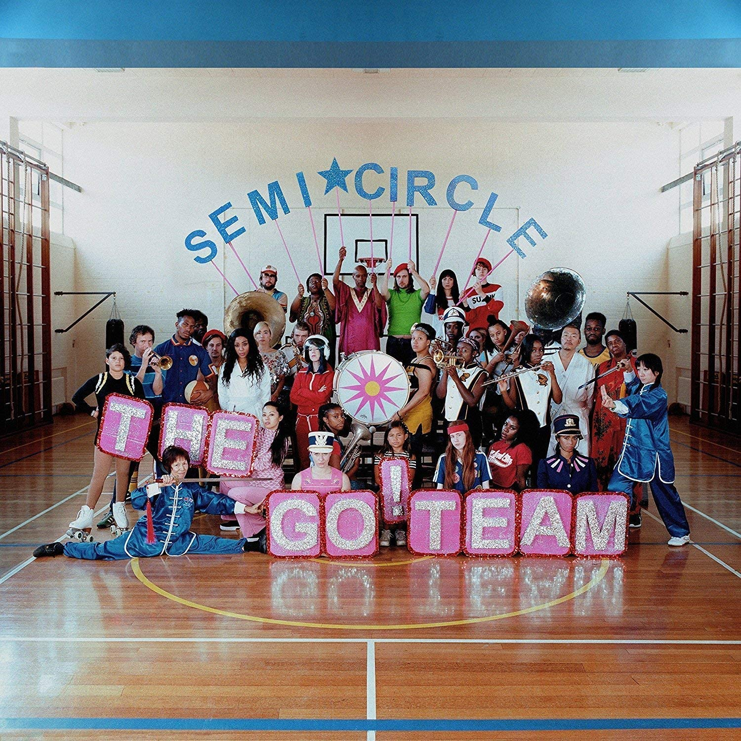 Go Team, The/Semi Circle - Pink Vinyl [LP]
