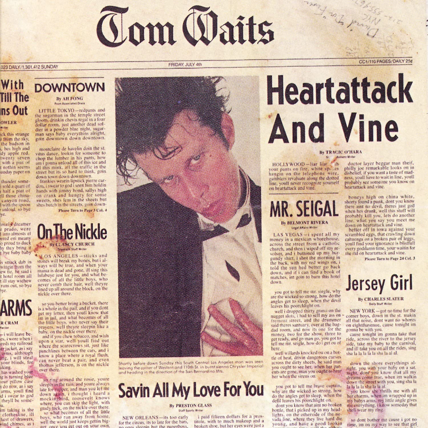 Waits, Tom/Heartattack And Vine [LP]