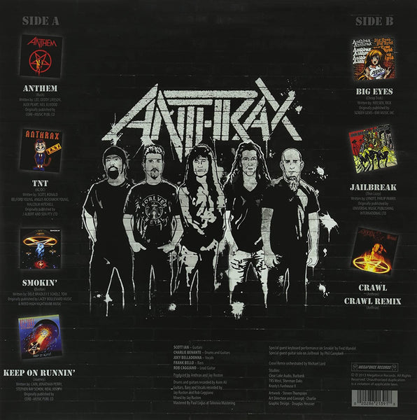 Anthrax/Anthems [LP]