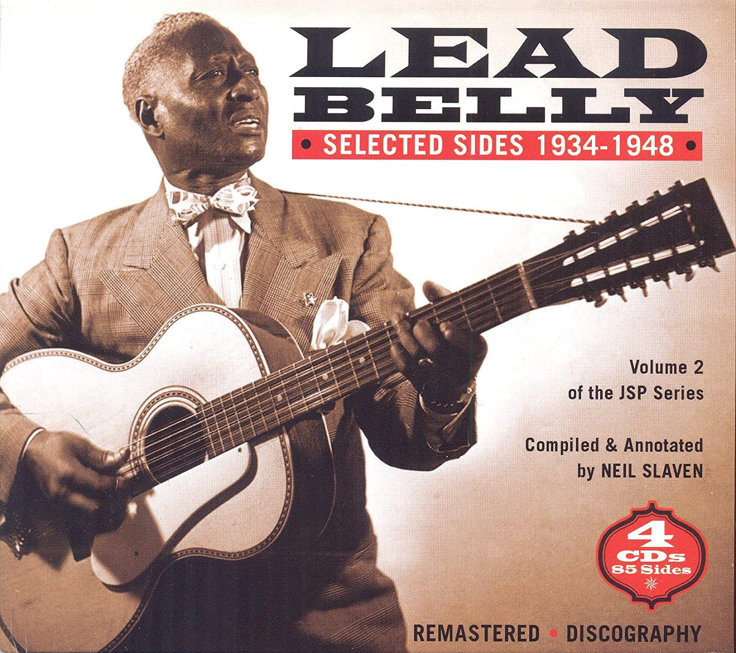 Leadbelly/Selected Sides 1934-1948 (4 CD Box) [CD]