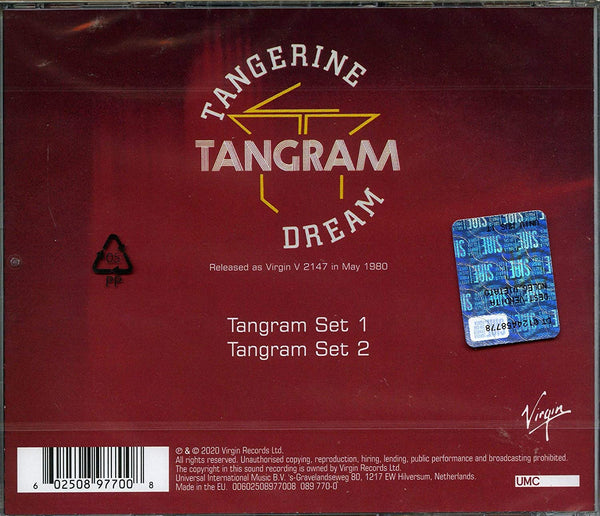 Tangerine Dream/Tangram [CD]