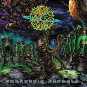 Rings Of Saturn/Embryonic Anomaly [CD]