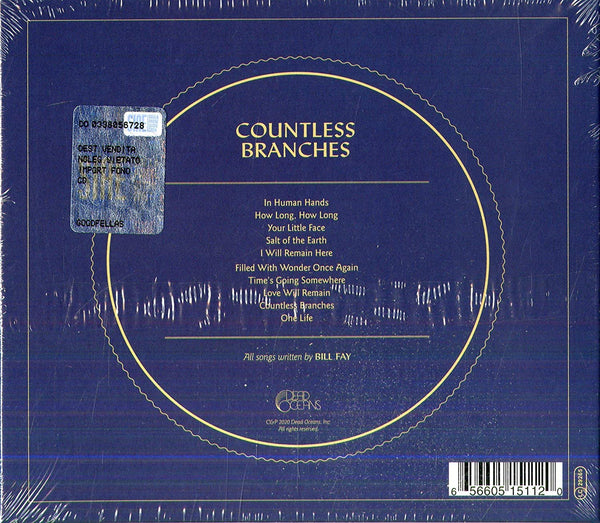 Fay, Bill/Countless Branches (deluxe edition) [CD]