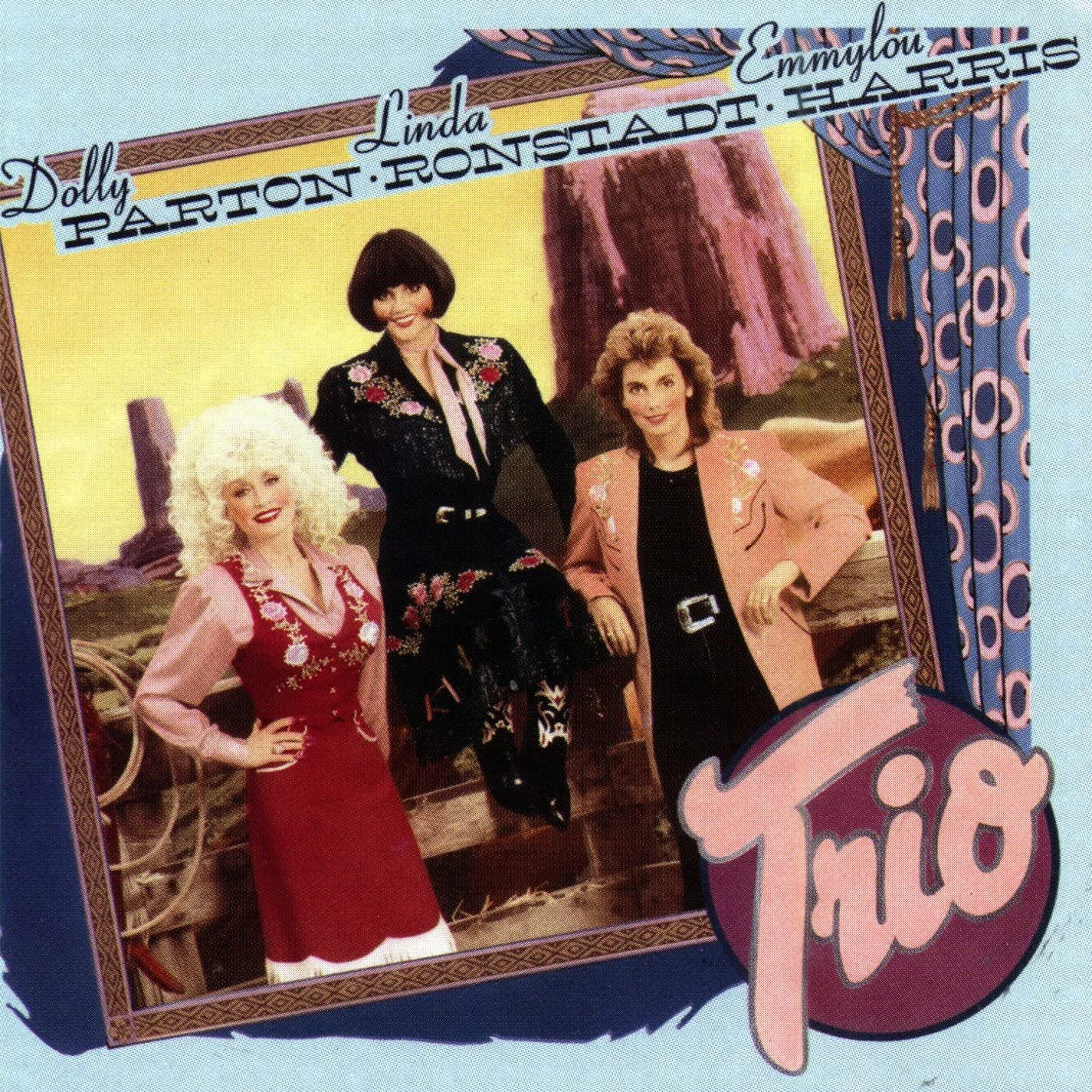 Parton, Dolly, Linda Ronstadt & Emmylou Harris/Trio [LP]