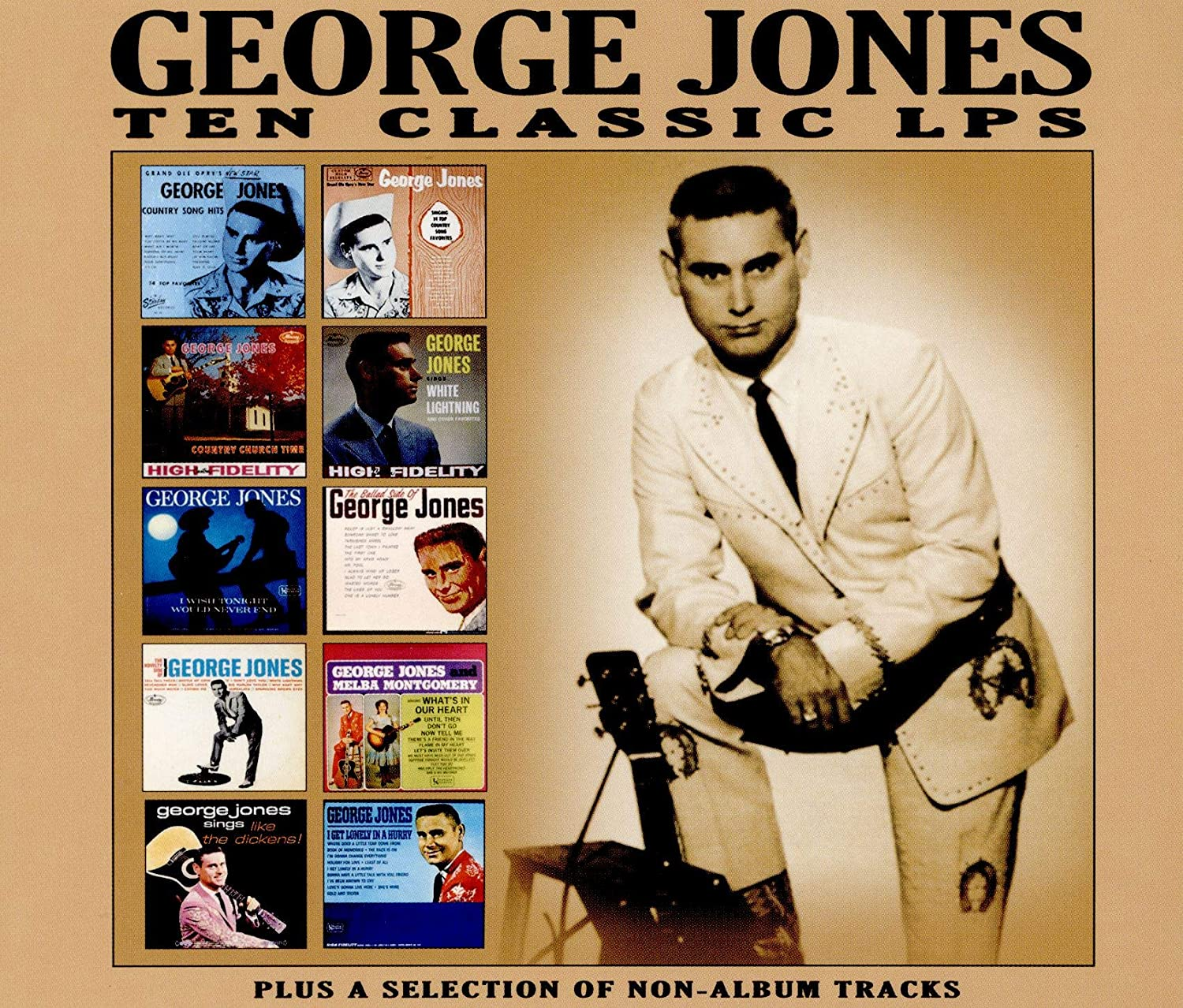 Jones, George/Ten Classic Albums [CD]