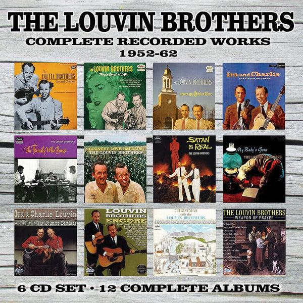 Louvin Brothers/Complete Recorded Works [CD]