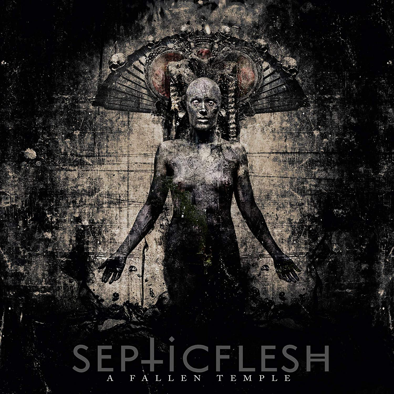 Septicflesh/A Fallen Temple (Transparent Red Vinyl) [LP]