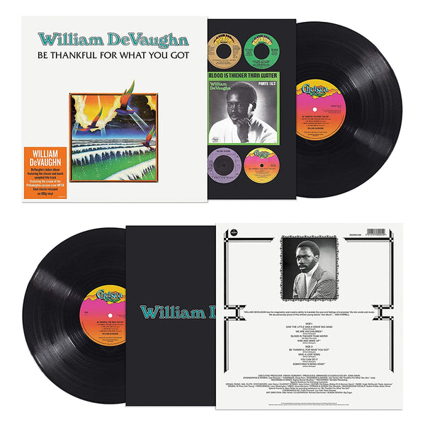 DeVaughan, William/Be Thankful For What You Got [LP]
