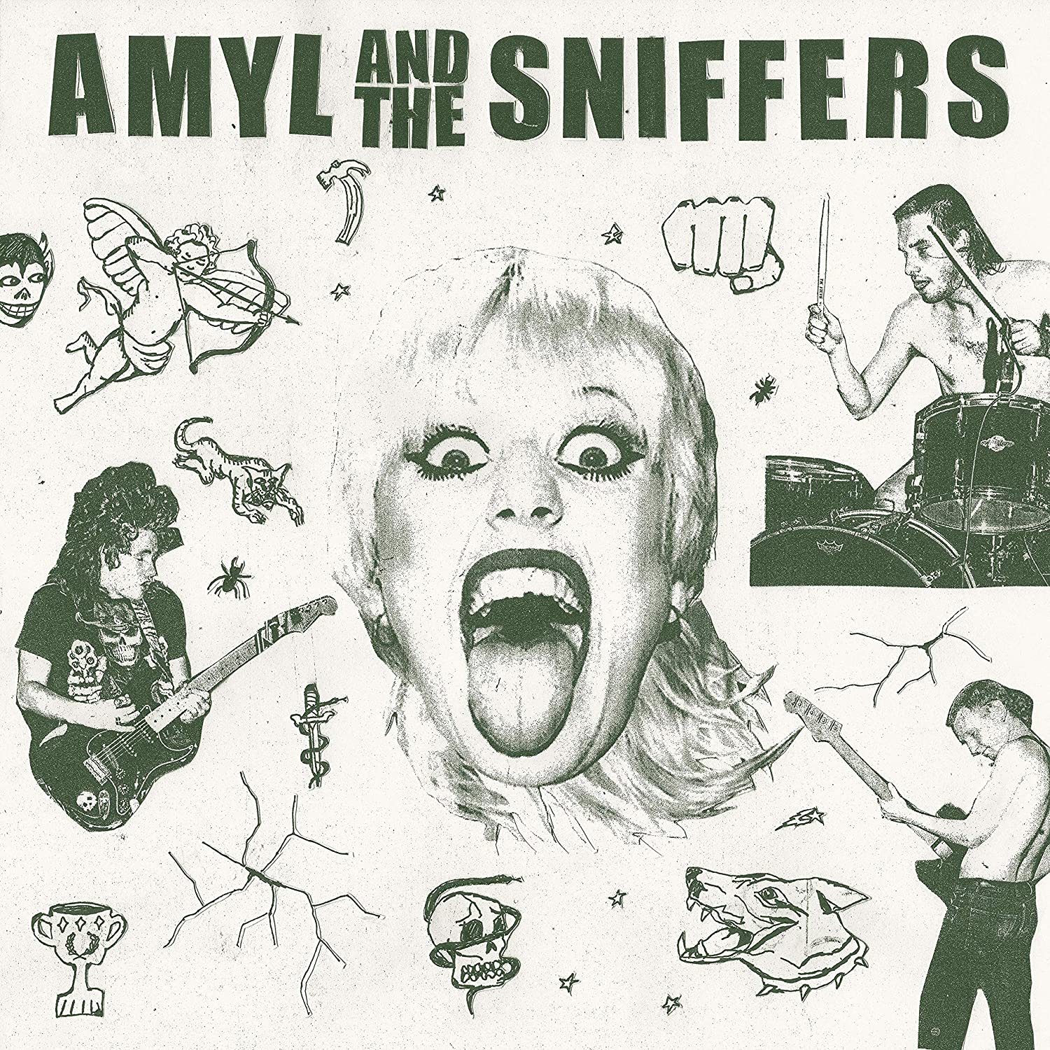 Amyl and the Sniffers/Amyl and the Sniffers [LP]