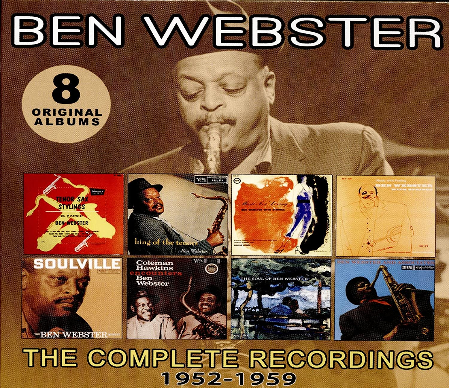 Webster, Ben/The Complete Recordings 1952 - 1959 [CD]