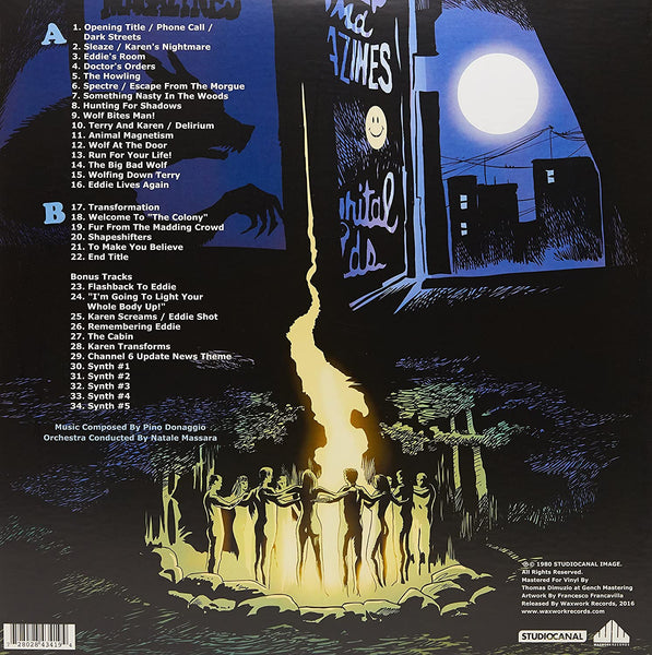 Soundtrack/The Howling (Waxworks) [LP]