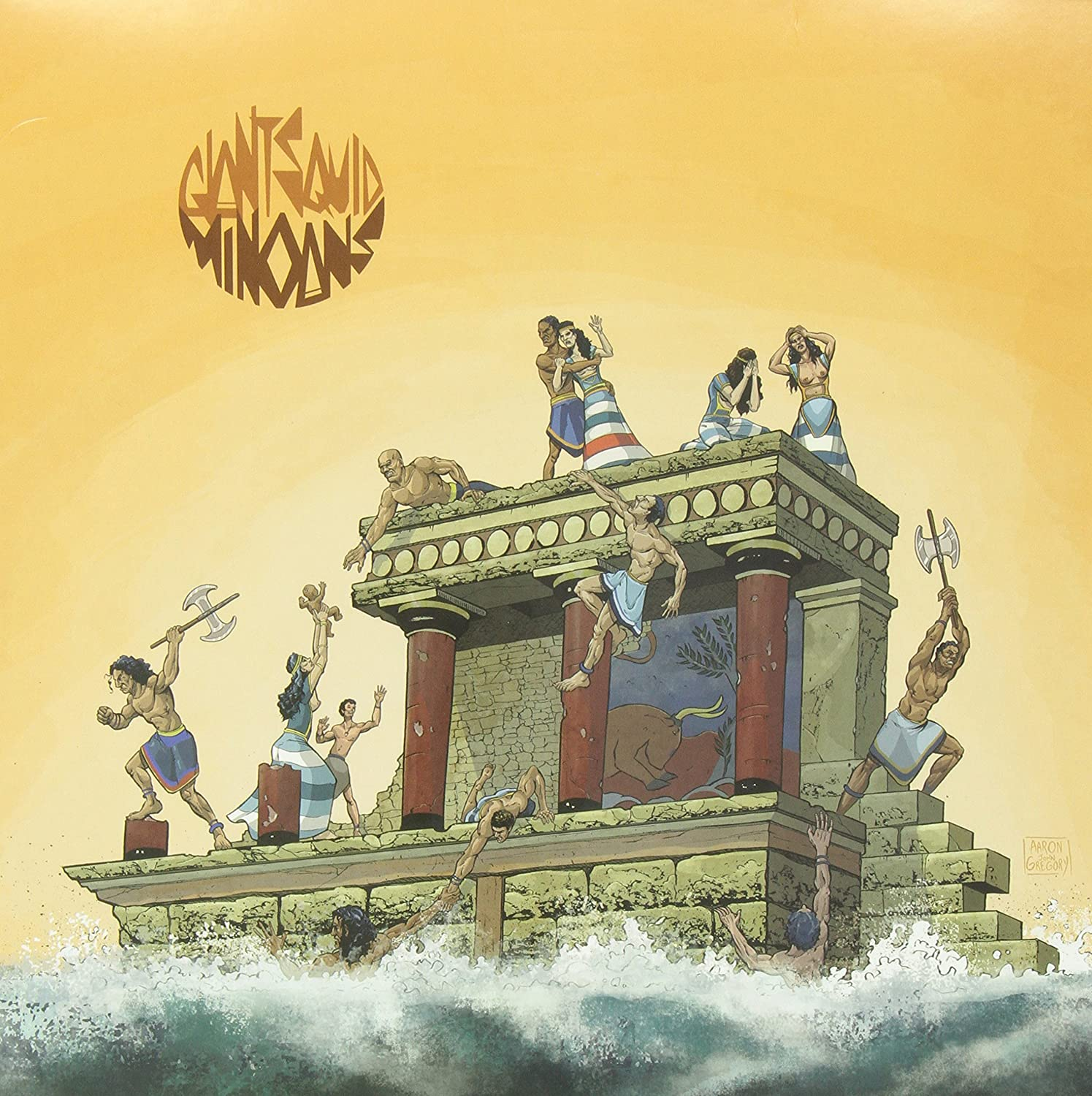Giant Squid/Minoans [LP]