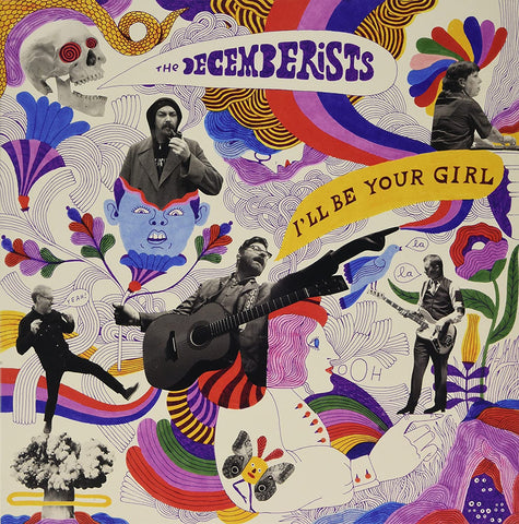 Decemberists, The/I'll Be Your Girl (Blue Vinyl) [LP]