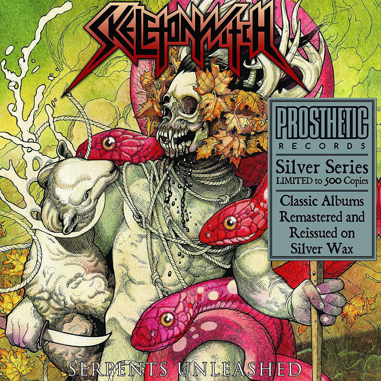 Skeletonwitch/Serpents Unleashed (Silver Vinyl) [LP]