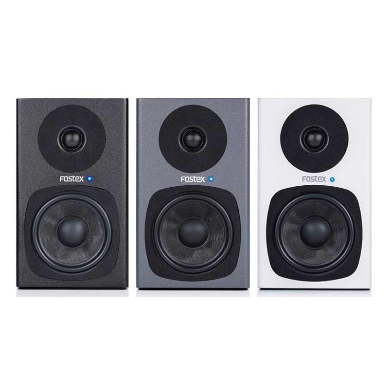Fostex PM0.4d Speaker System (Pair) - White