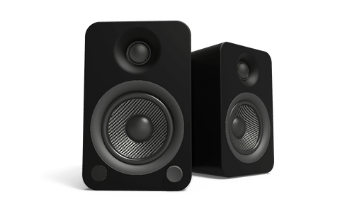 Kanto Yu 4 Powered Speakers - Matte Black