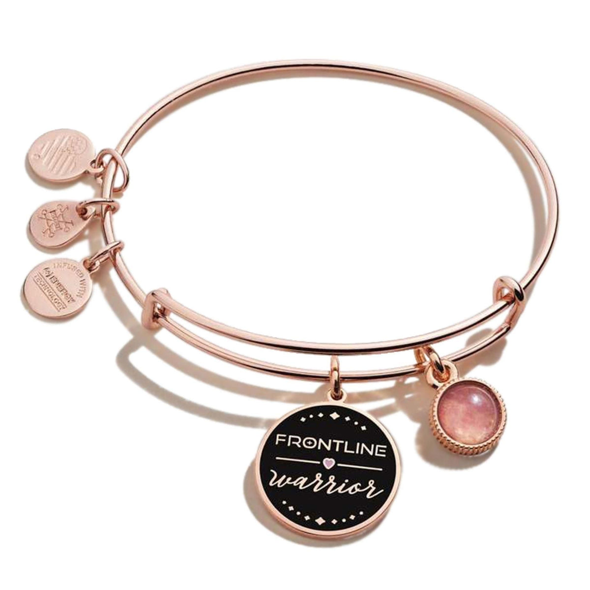 ALEX AND ANI Frontline Warrior Bangle Bracelet