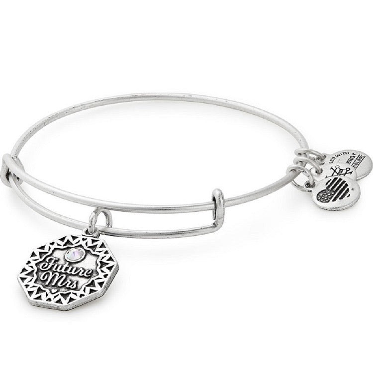 ALEX AND ANI Future Mrs. Bangle Bracelet