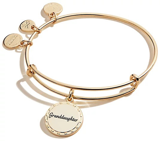 ALEX AND ANI Granddaughter Gold Bangle