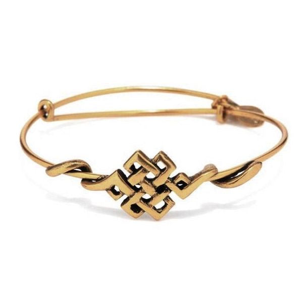 ALEX AND ANI Endless Knot Wrap