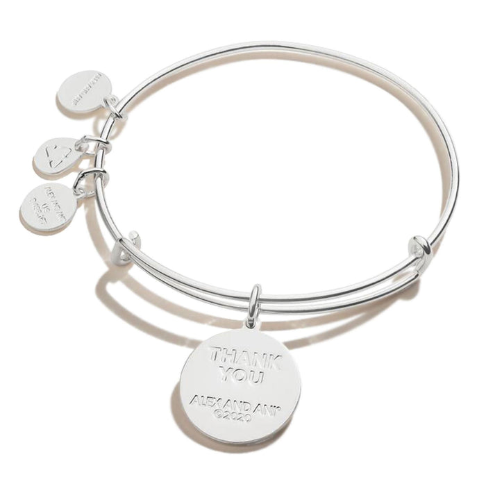 ALEX AND ANI Healthcare Hero Silver Bangle Bracelet