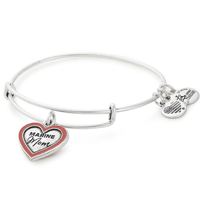 ALEX AND ANI U.S. Marine Mom Charm Bangle