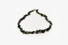 Load image into Gallery viewer, Bloodstone Chip Necklace