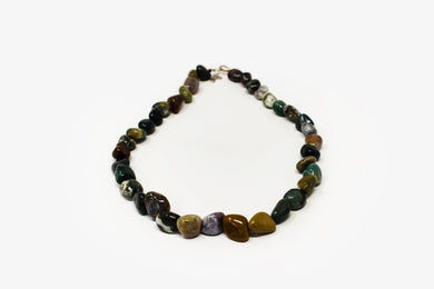Bloodstone Tumbled Necklace