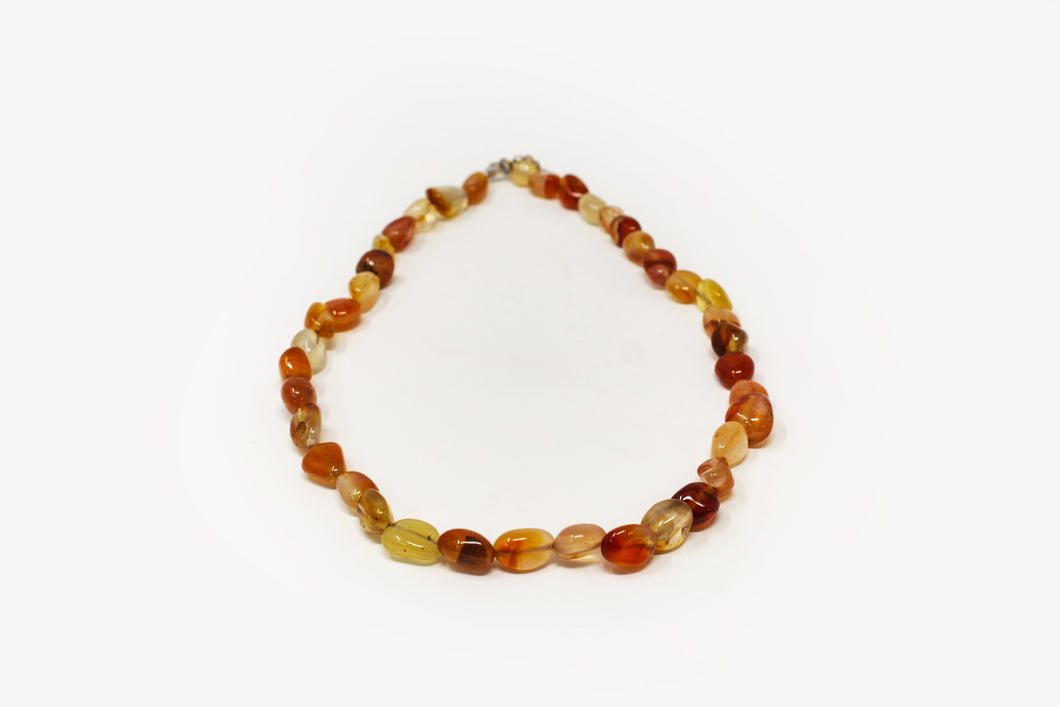 Tumbled Carnelian Necklace
